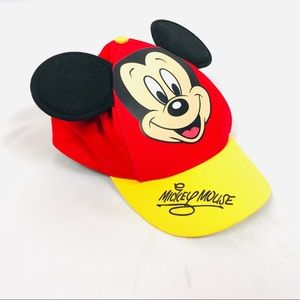 Disney Mickey Mouse Baseball cap hat with ears